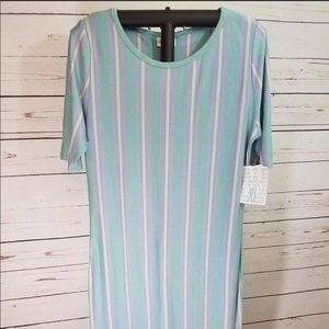 NWT! LuLaRoe Julia Dress ~  Size XL ~ Mint Green